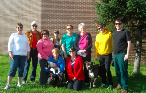 """This year the Blackwood family walked  """"in Memory of Fred Blackwood"""" who was a dedicated walker in Glovertown's annual WALK FOR WATER (since 1999)."""