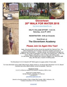 Glovertown Walk for Water Coming Up June 9!